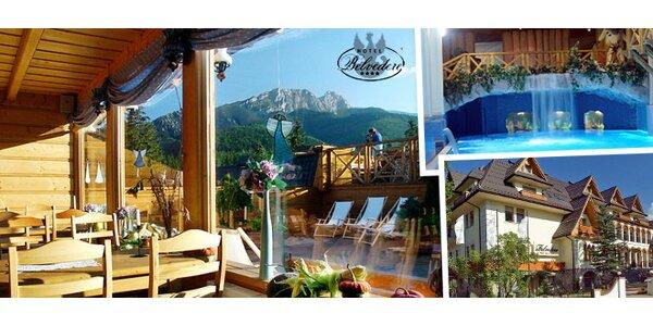 Luxusný wellness pobyt pre dvoch v Zakopanom
