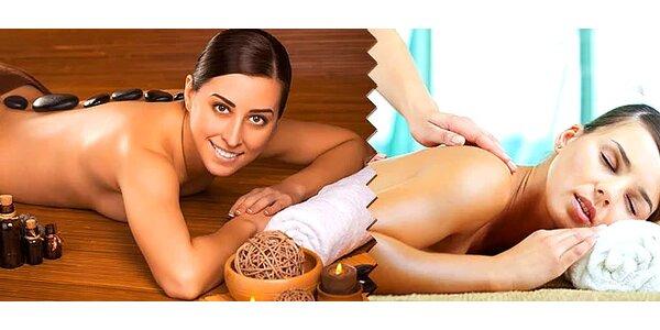 Klasická masáž a bankovanie alebo lávové kamene či netradičná zázvorová masáž