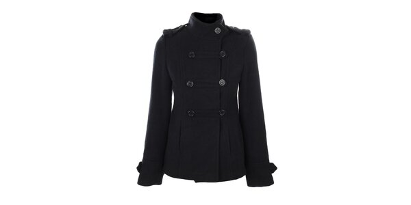 Dámsky tmavo modrý vojenský kabátik Gémo