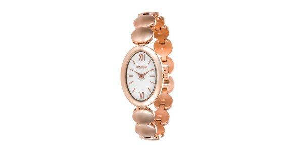 Dámske ružově zlaté hodinky Lancaster