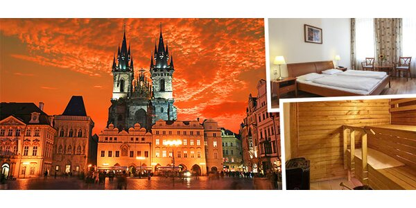 Oddych v hoteli Orion*** v Prahe