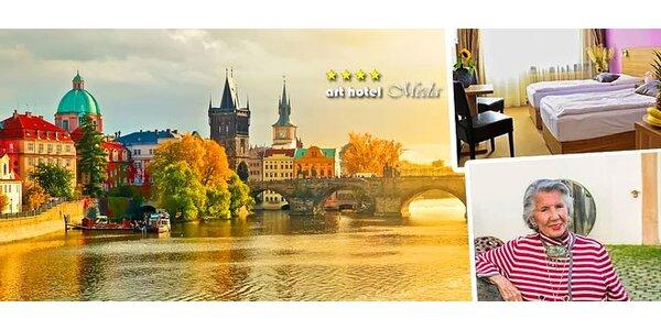 Čarovná dovolenka pre dvoch v srdci Prahy