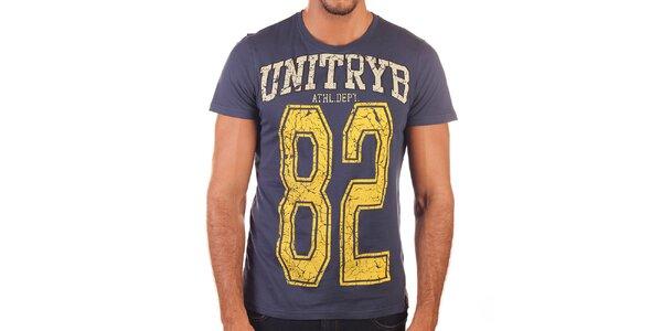 Pánske tričko s potlačou Unitryb