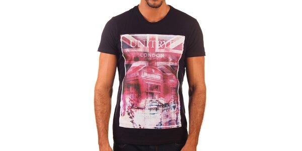 Pánske tričko s britským motívom Unitryb