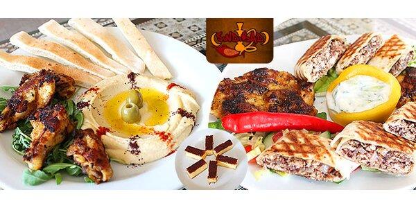 Orientálne degustačné 3-chodové menu pre dvoch
