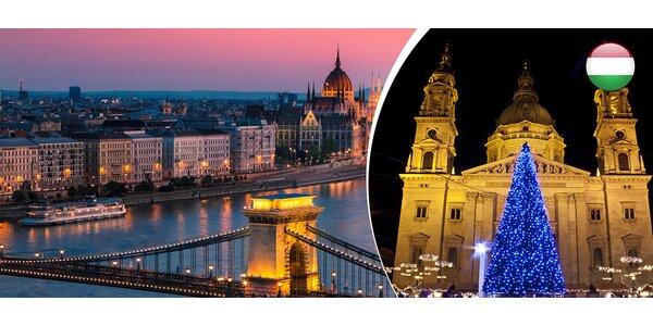 Vianočná Budapešť na 1 deň