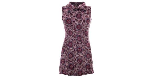 Dámske fialové šaty bez rukávov Purple Jam