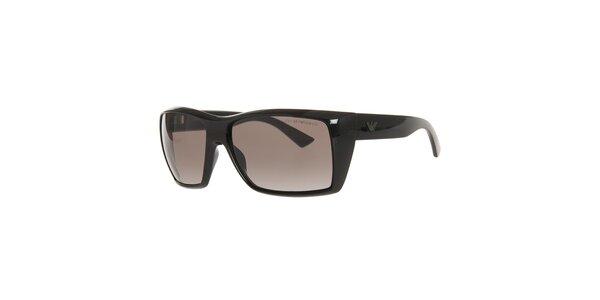 Pánske čierne slnečné okuliare Emporio Armani