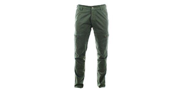 Pánske nohavice so zipsovými vreckami Aeronautica Militare