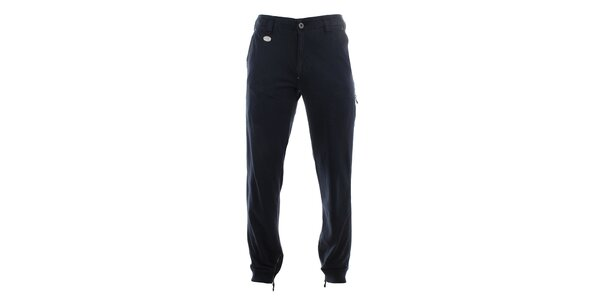 Pánske tmavomodré nohavice so zipsami pri členku Aeronautica Militare