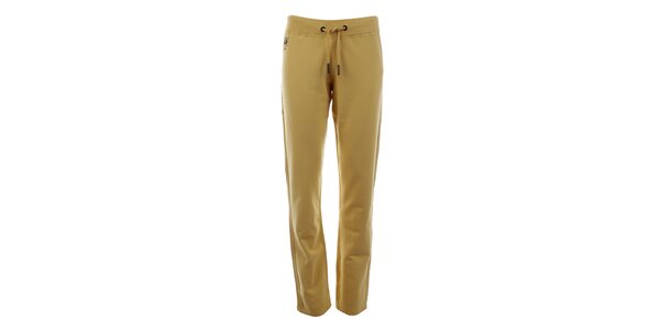 Dámske žlté teplákové nohavice Aeronautica Militare