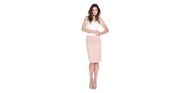 Dámska ružová sukňa Moschino Cheap & Chic s mašľou