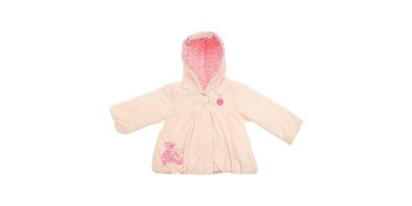 Detský ružový kabátik Lullaby