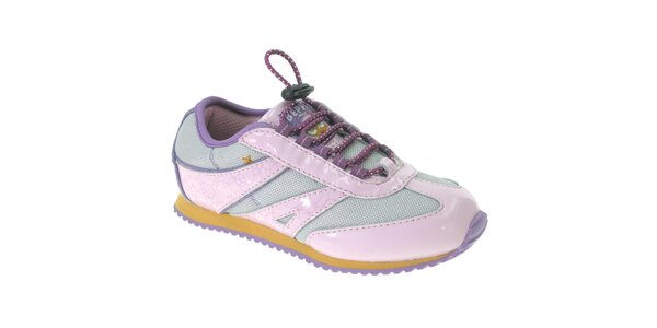 Detské ružovo-fialové tenisky Beppi