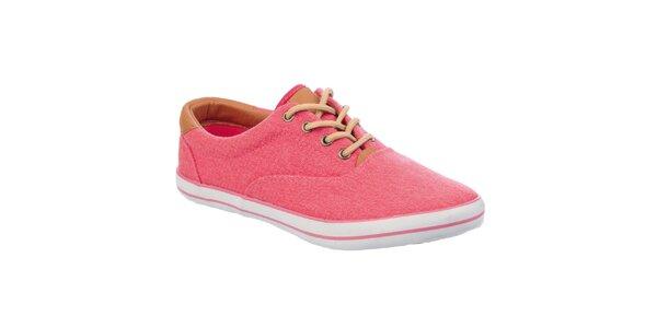 Dámske svetlo ružové tenisky Keddo
