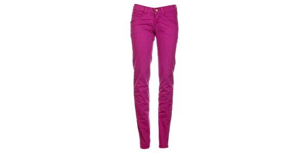 Dámske fuchsiové skinny džínsy Timeout