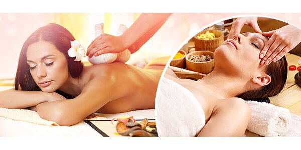 Originálna thajská masáž podla výberu v centre