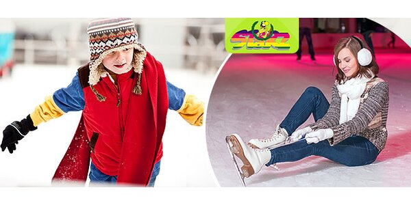 Permanentka na 3 vstupy na verejné korčuľovanie