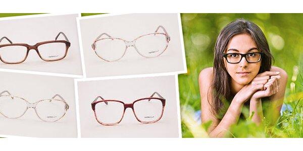 Štýlové okuliarové rámy
