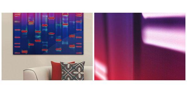 Umenie inšpirované vedou: Unikátny obraz vášho vlastného DNA profilu