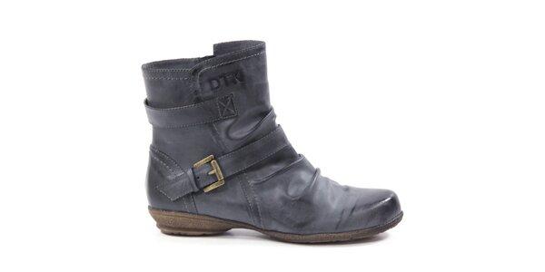 Dámske členkové topánky s remienkom Drastik
