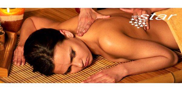 Originálna thajská masáž na výber