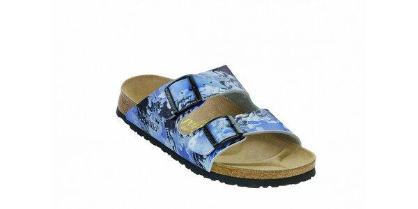 Detské fialkové ortopedické papuče Papillio
