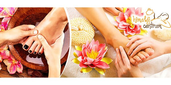 Klasická či wellness pedikúra s kúpeľom a soľou