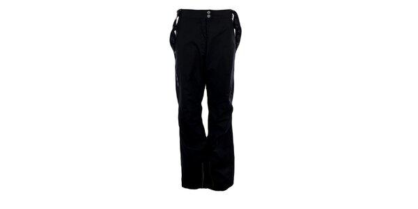 Dámske antracitové lyžiarske nohavice Hannah