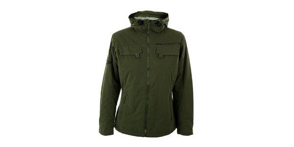 Dámska olivovo zelená zimná bunda Hannah