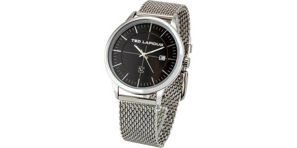Pánske oceľové hodinky Ted Lapidus