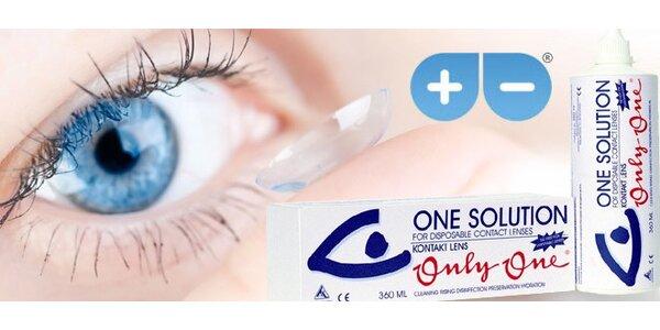 Roztoky na údržbu kontaktných šošoviek