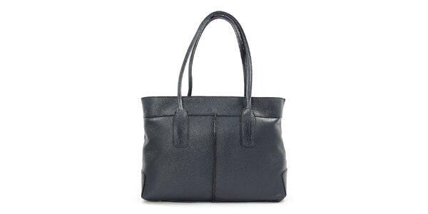 Dámska tmavomodrá obdĺžniková kabelka Kreativa bags