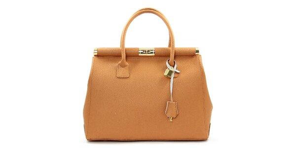 Dámska elegantná kabelka z kože Kreativa bags