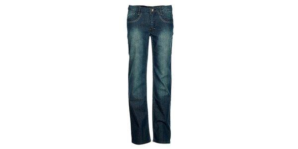 Dámske modré džínsy Bushman