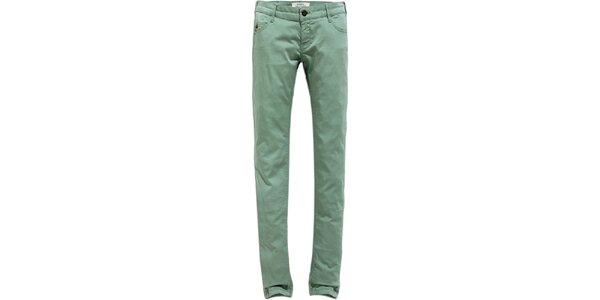 Dámske svetlo zelené skinny džínsy Timeout