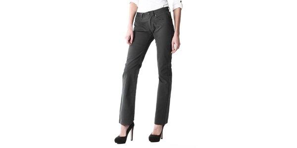 Dámske tmavo šedé džínsy Replay