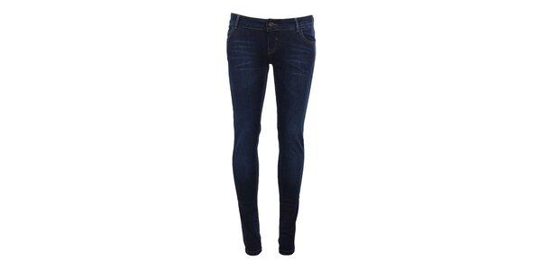 Dámske indigové skinny džínsy Timeout