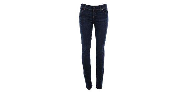 Dámske džínsy v tmavo modrej farbe Big Star