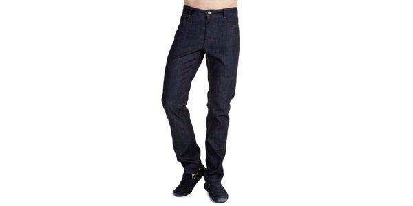 Pánske džínsy v tmavo modrom prevedení Galvanni