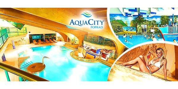 Celý deň v popradskom AquaCity!