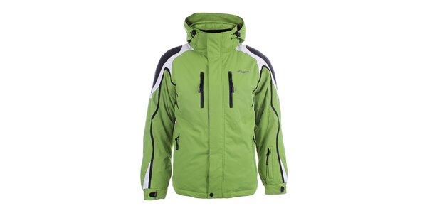 Pánska zelená zimná bunda Joluvi
