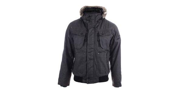 Pánska zimná bunda s vreckami Joluvi