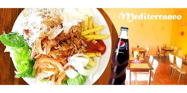 Výborné KEBAB menu v OC Galéria Tesco Lamač
