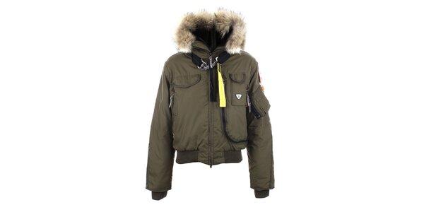 Dámska zimná army bunda Joluvi
