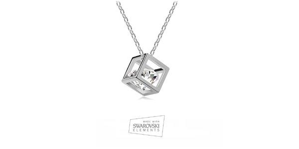 Dámsky náhrdelník s kryštálom Swarovski Elements
