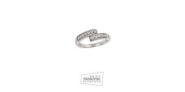 Dámsky prsteň s kamienkami Swarovski Elements