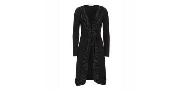 Dámsky svetríkový kabátik v čiernej farbe Imagini