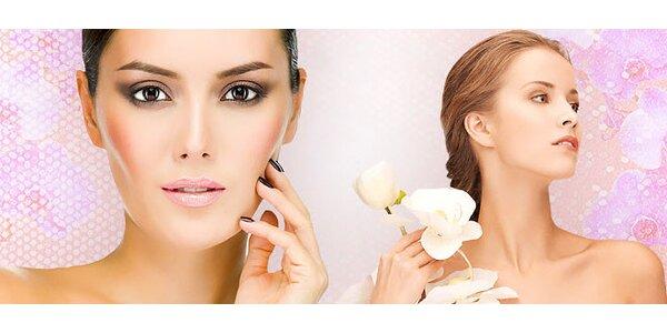 Ošetrenie pleti ultrazvukom alebo chemický peeling celej tváre