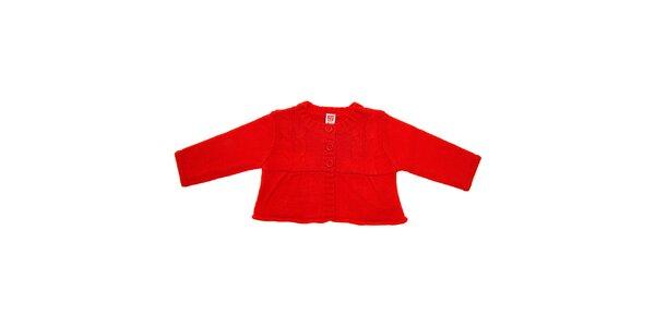 Detský červený svetrík Tuc Tuc